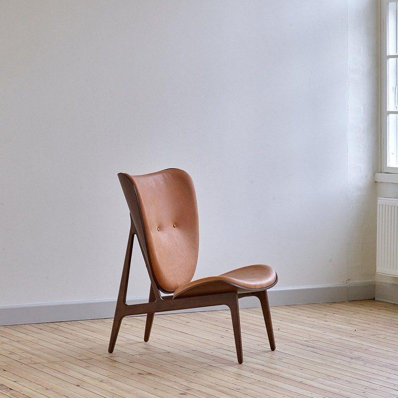 Ghế tựa decor trang trí cho phòng khách tối giản