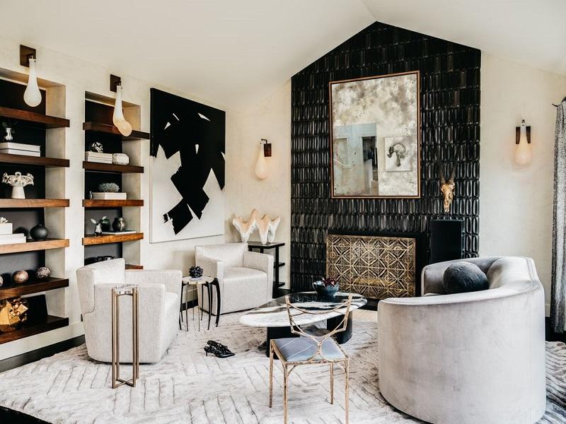 Thiết kế ánh sáng trong trang trí phòng khách hiện đại