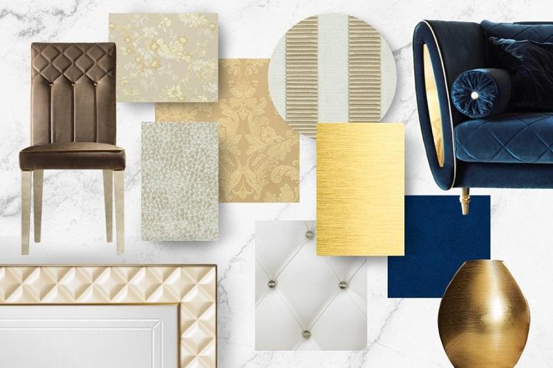 Chất liệu kim loại dùng trong thiết kế nội thất