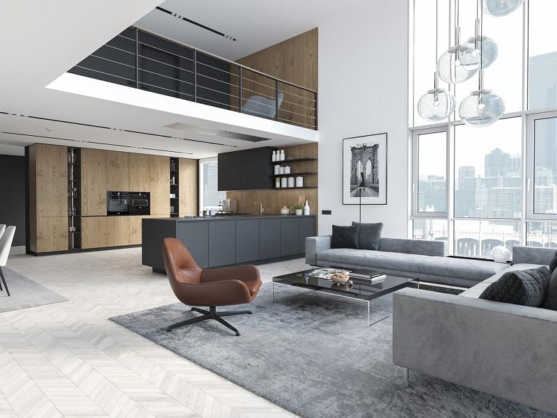 Kinh nghiệm thiết kế nội thất phong cách hiện đại