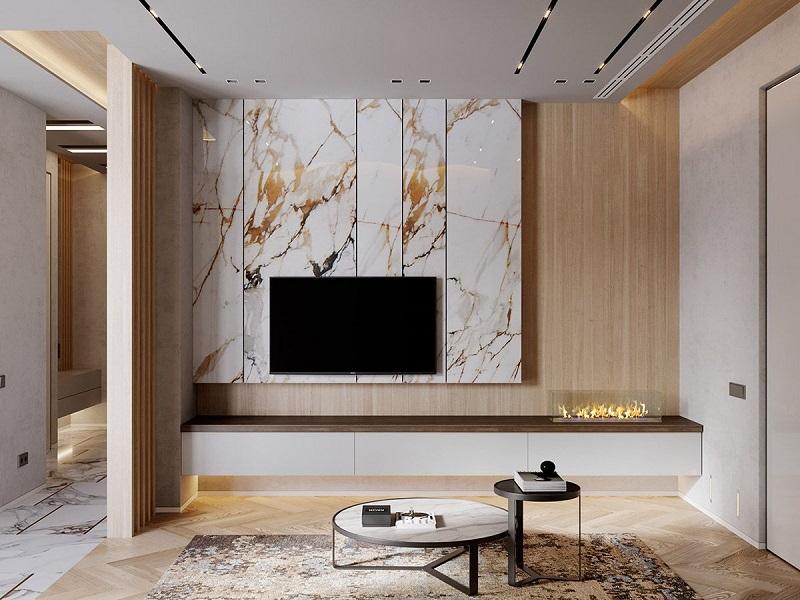 Chất liệu đá tự nhiên dùng trong thiết kế nội thất