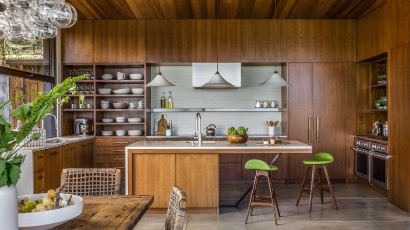 Thiết kế tủ bếp đẹp kiểu Á