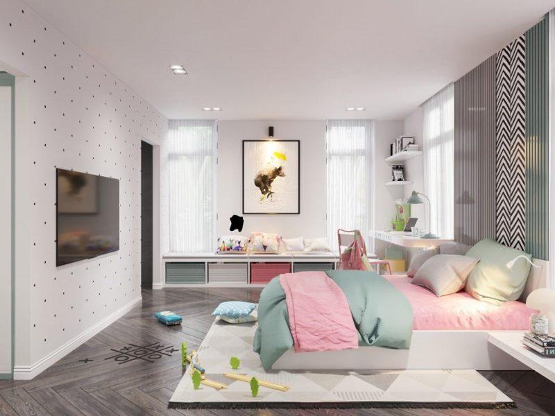 Thiết kế phòng ngủ Hàn Quốc