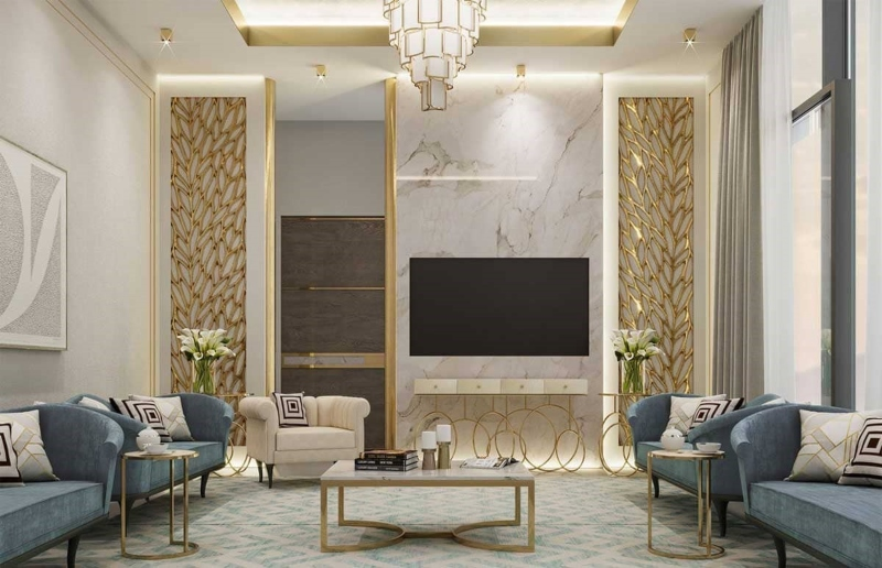 Trang trí nội thất phong cách luxury
