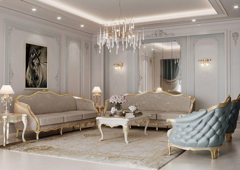 Hệ thống ánh sáng hài hòa trong phòng khách
