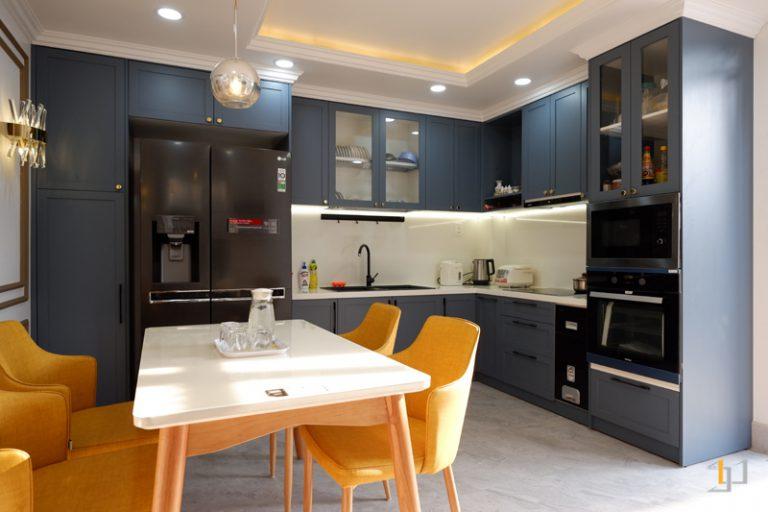 Không gian nội thất bếp sang trọng hoàn thiện