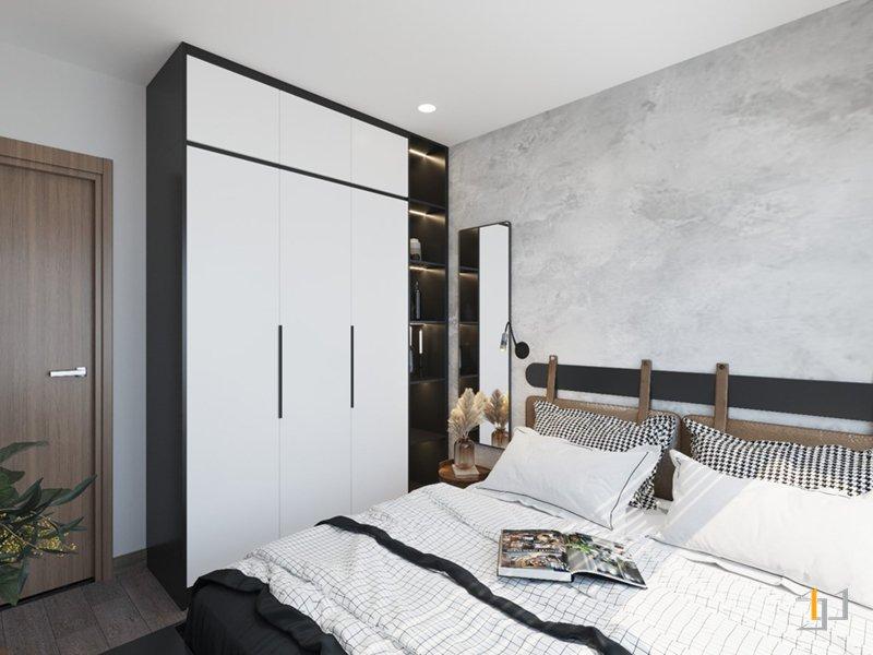 Thiết kế tủ quần áo cho phòng ngủ