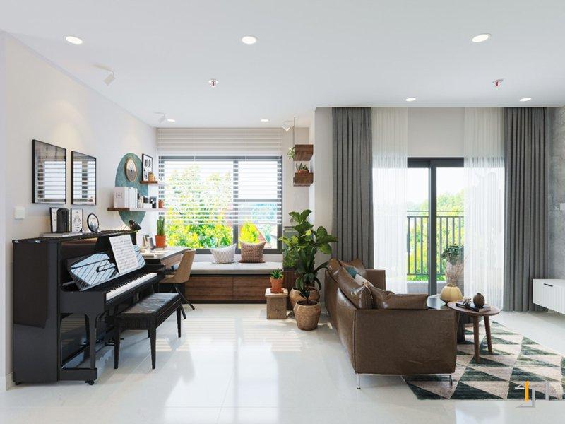 Thiết kế phòng làm việc chung cư