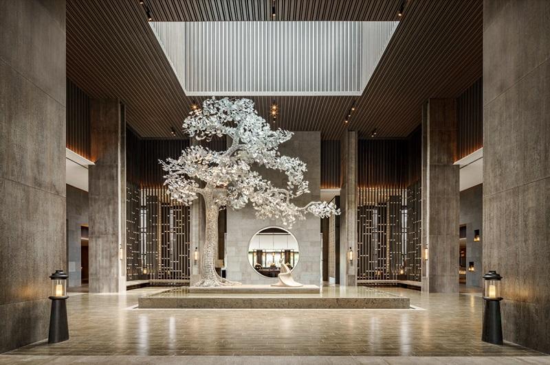 Trang trí nội thất ấn tượng trong thiết kế nội thất khách sạn
