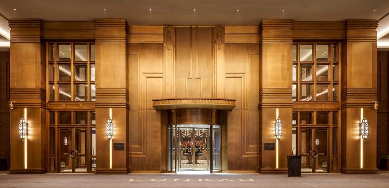 Thiết kế nội thất tiền sảnh khách sạn