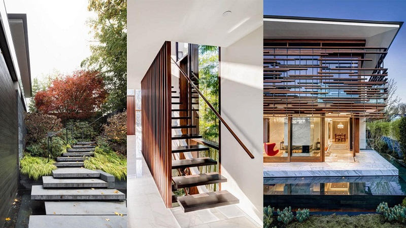 Thiết kế nội thất nhà vườn phong cách hiện đại