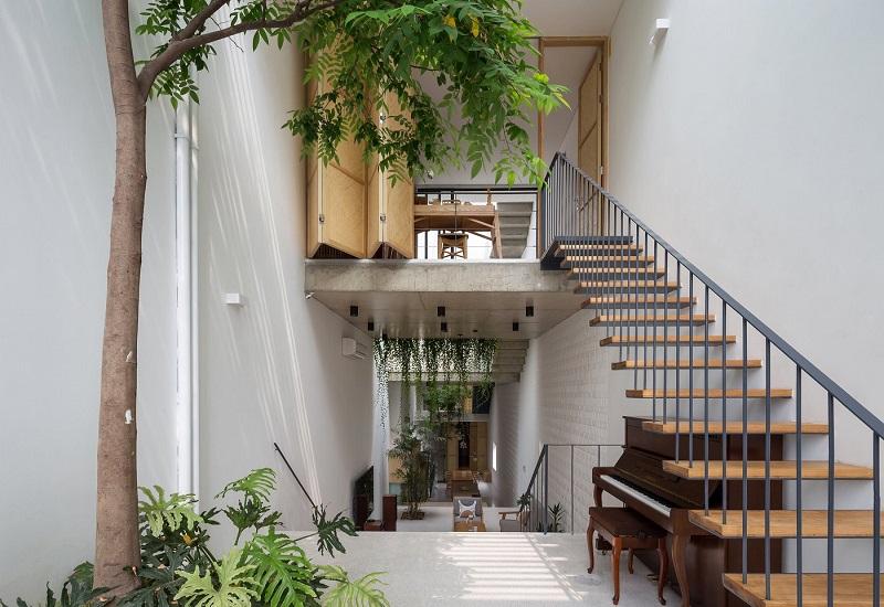 Thiết kế nội thất nhà vườn kiểu mái thái