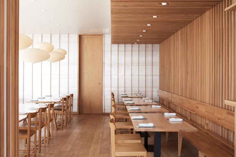 Thiết kế nội thất quán ăn Nhật Bản đẹp