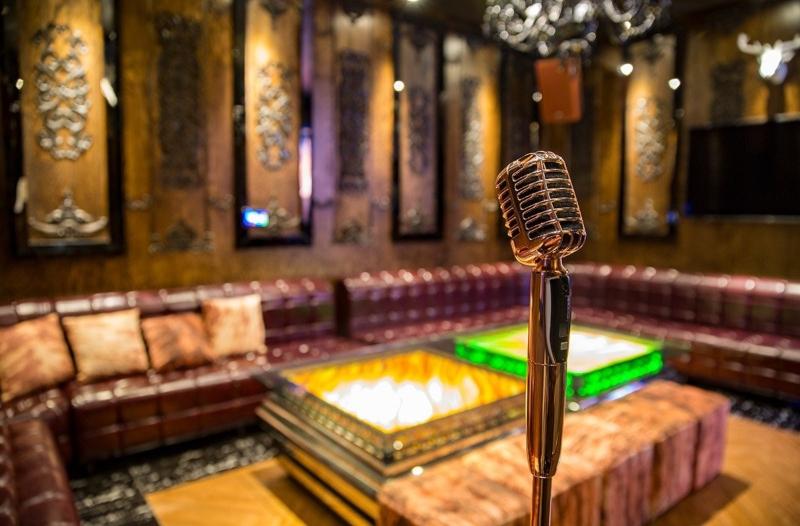 Thiết kế nội thất quán karaoke đẹp