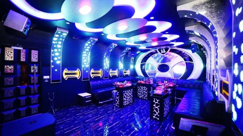 Thiết kế nội thất phòng hát karaoke hiện đại