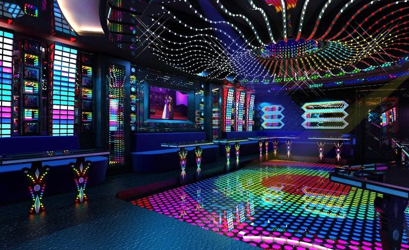 Thiết kế quán karaoke minibar đẹp