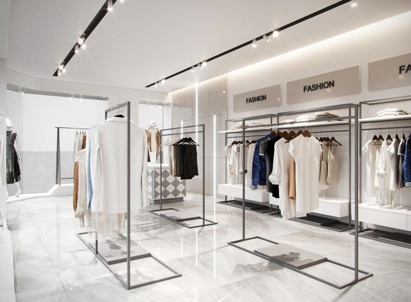 Thiết kế nội thất shop quần áo đẹp