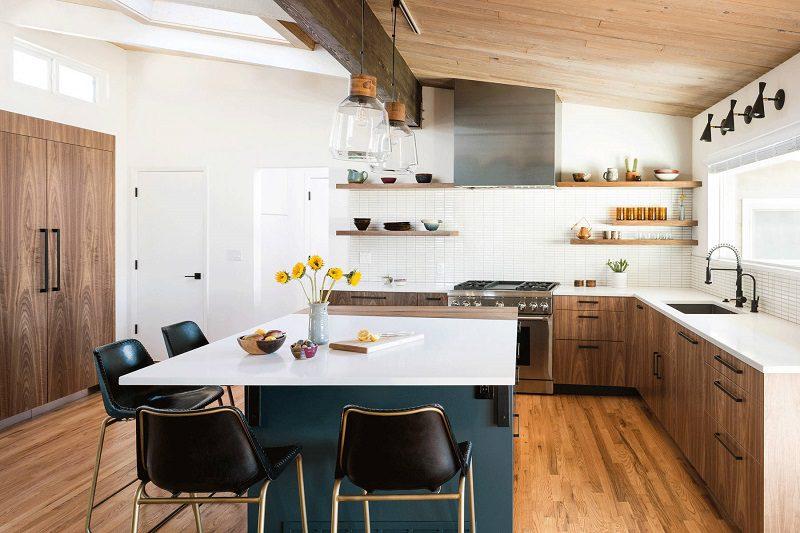 Thiết kế bếp đơn giản phong cách
