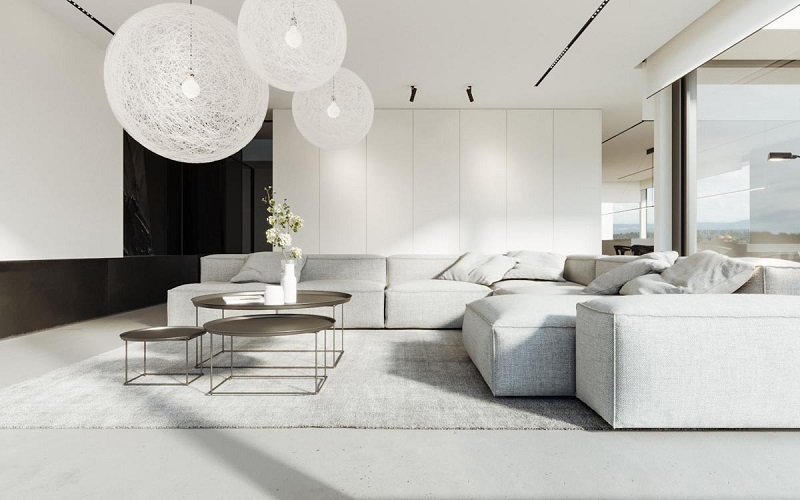 Những lợi ích thiết thực khi trang trí nội thất phòng khách đơn giản