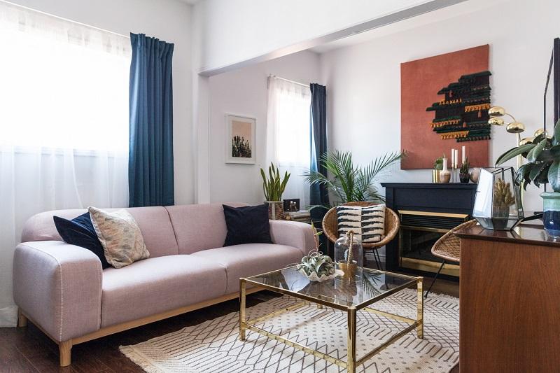 Phong cách tân cổ điển cho phòng khách 20m2