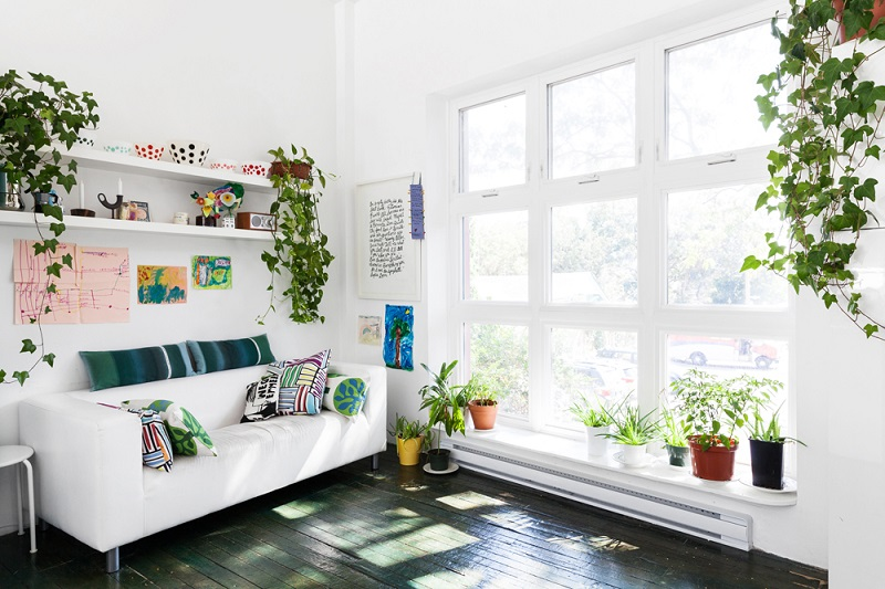 Phòng khách 20m2 đẹp nhờ lối bố trí nội thất thông minh