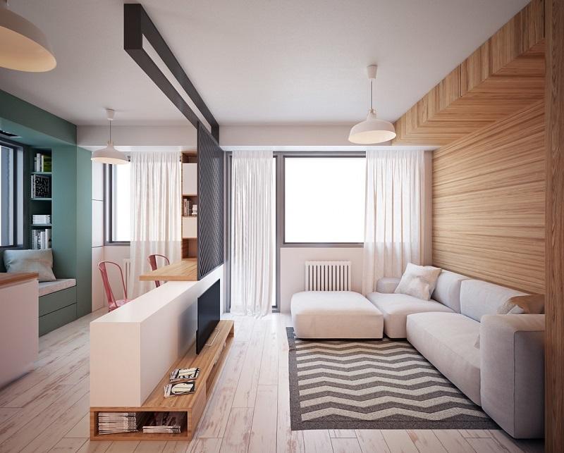 Sắp xếp bố cục nội thất phòng khách nhỏ 10m2
