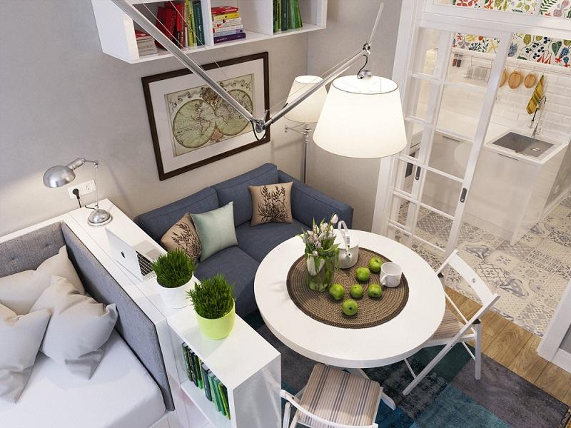 Kết hợp các loại nội thất khác nhau để tăng hiệu quả sử dụng