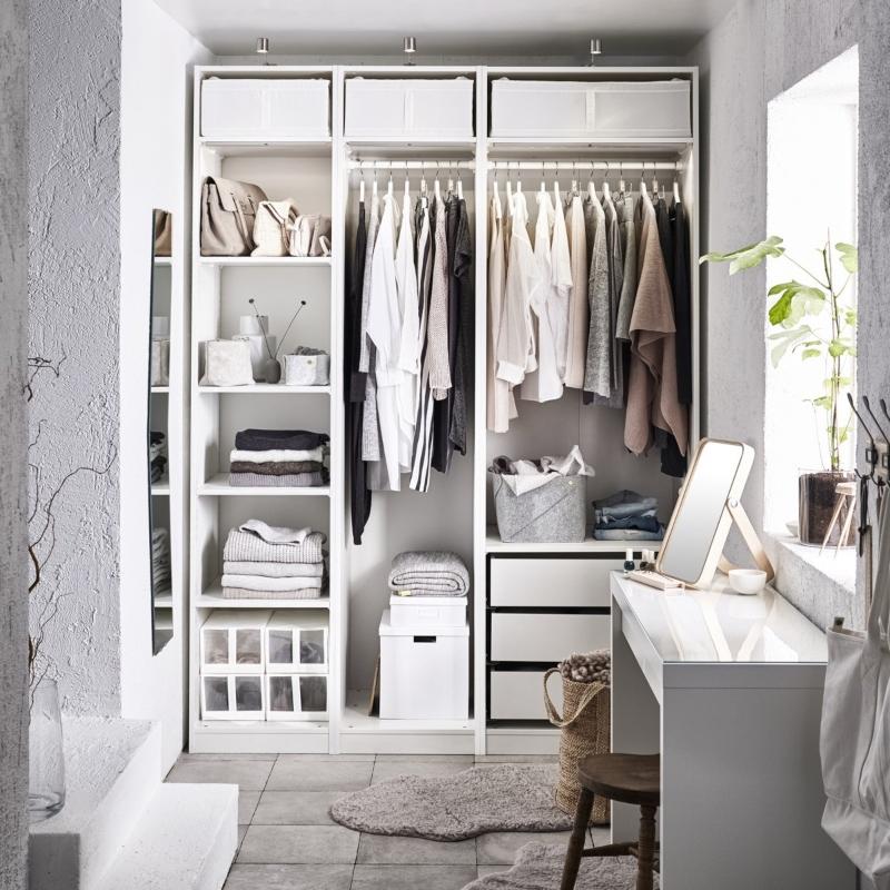 Thiết kế phòng thay đồ cho nhà ở chung cư