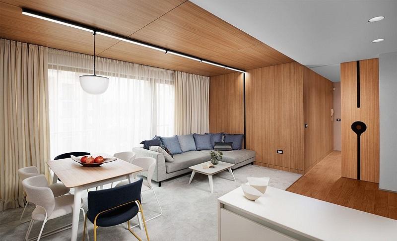 Độ bền của nội thất gỗ trang trí phòng khách