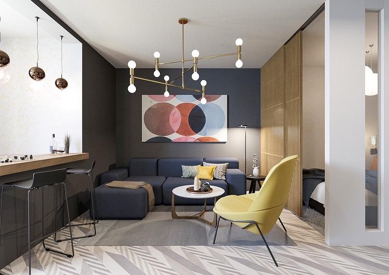 Các mẫu phòng khách đẹp hiện đại được yêu thích