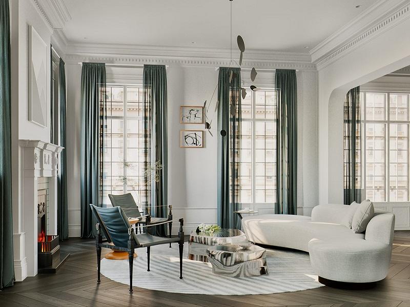 Bí quyết bố trí nội thất trong các mẫu phòng khách đẹp