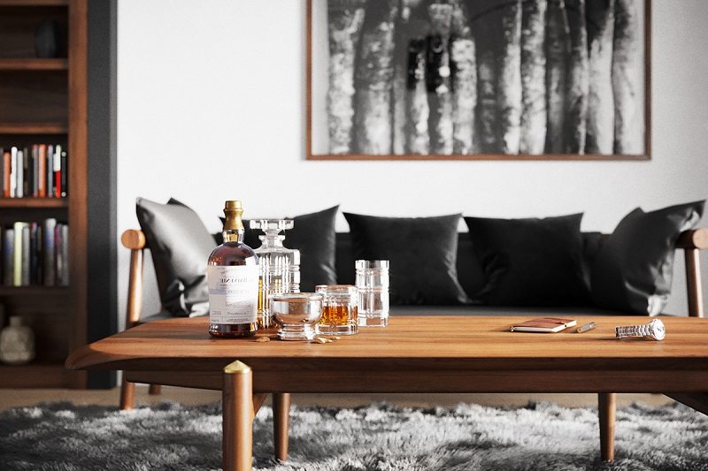 Chất liệu ứng dụng trong các mẫu phòng khách đẹp