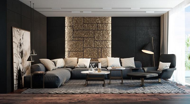 Các mẫu phòng khách đẹp phong cách hiện đại