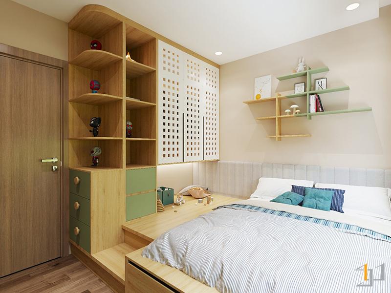 Thiết kế cánh tủ độc đáo cho tủ quần áo
