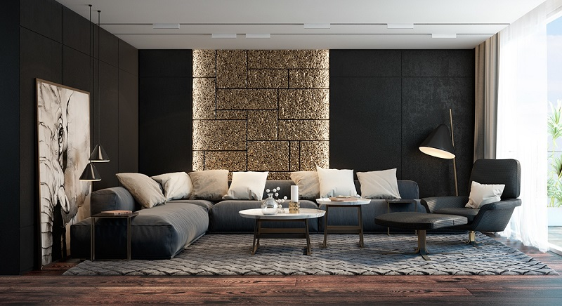 Khắc phục lỗi sai chọn kích thước nội thất không phù hợp phòng khách 40m2