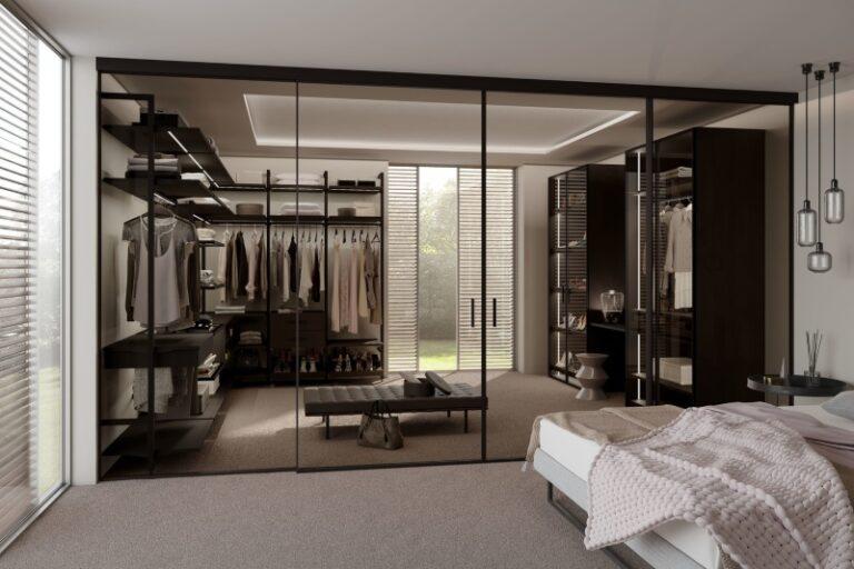 Thiết kế phòng quần áo hiện đại đẹp