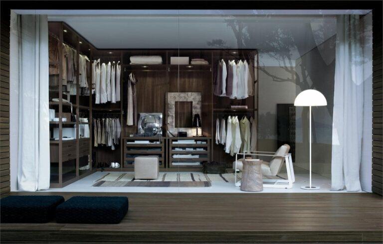 Phòng quần áo phong cách Contemporary