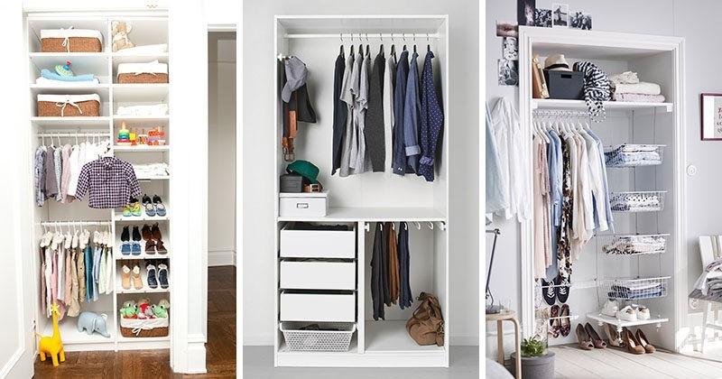 Phòng quần áo nhỏ gọn